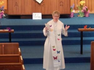 Pastor Mindy's sermon
